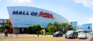 The Mall of Asia, in Manila, Philippines, is the 4th-largest shopping mall in the world. Photo credit: Ivan Tykhy, 2012.